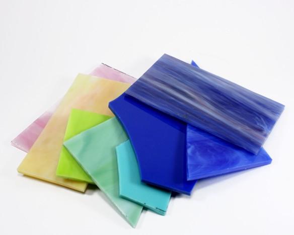 Glass comes in so many pretty colors!